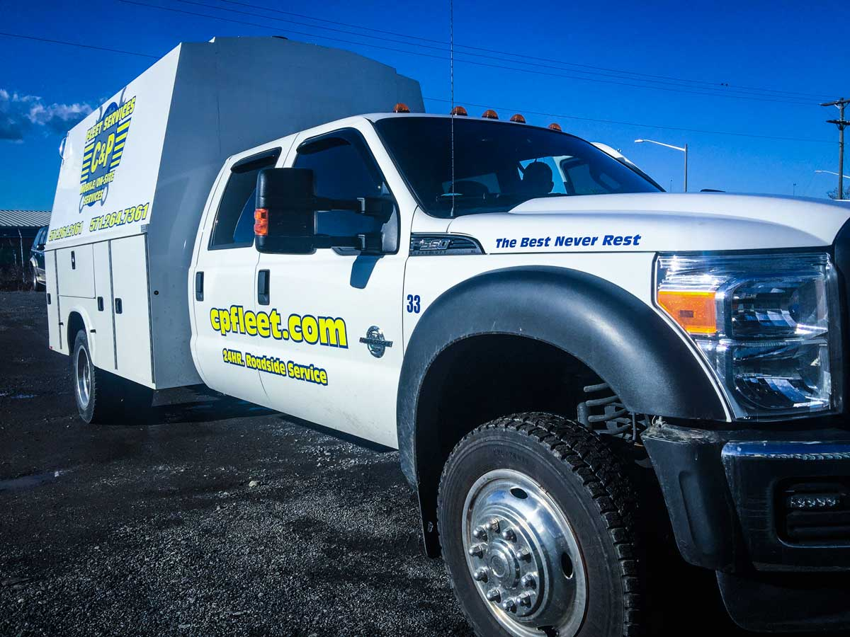 We offer Fleet vehicle repairs wherever you need them. Our modern fleet of mobile service trucks is fully equipped to offer fast, thorough repairs