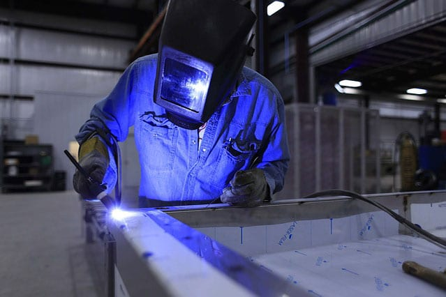 Our certified welders get repairs done right the first time.
