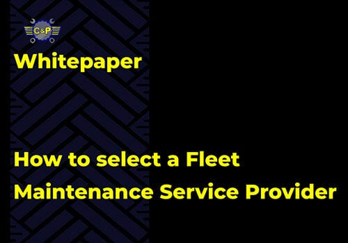 How to select a Fleet Maintenance Service Provider